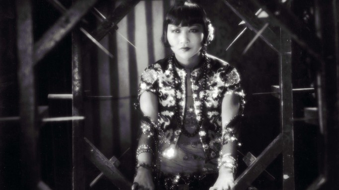 Anna May Wong in film still from 1922
