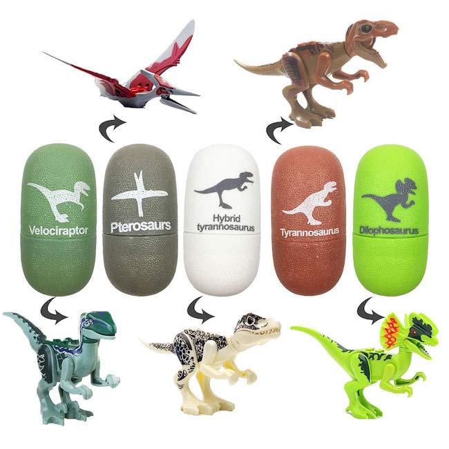 5 Pack Dinosaur Eggs