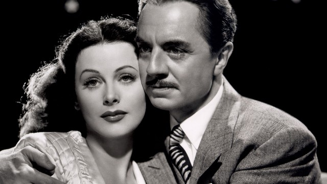 Hedy Lamarr and William Powell in a still for 'The Heavenly Body' (1944)