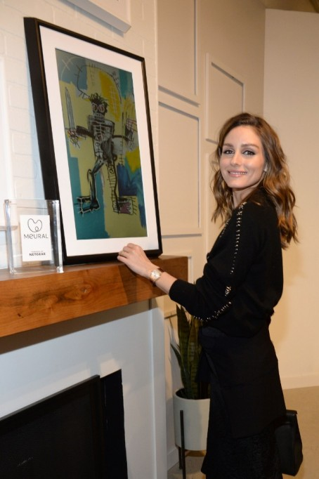 Olivia Palermo for Meural Canvas