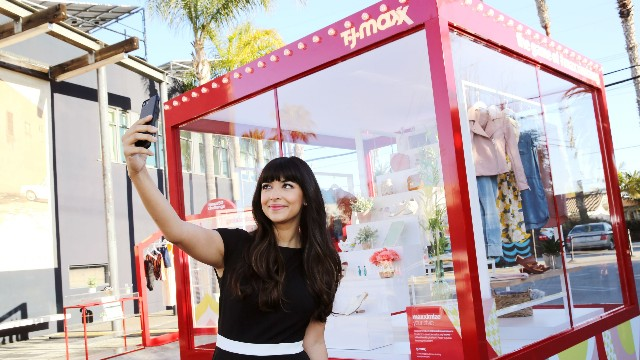 Hannah Simone for T.J. Maxx