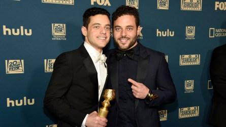Celebrity twins Rami and Sami Malek
