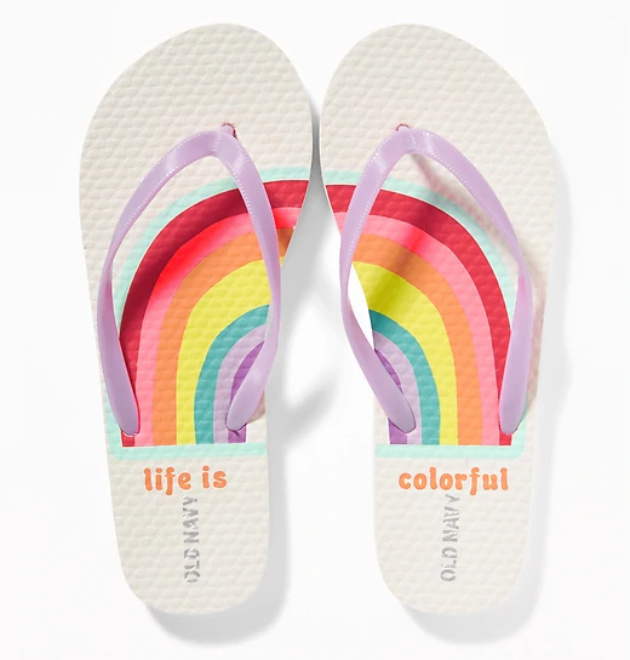 Summer Camp Packing Essentials: Shower Flip Flops