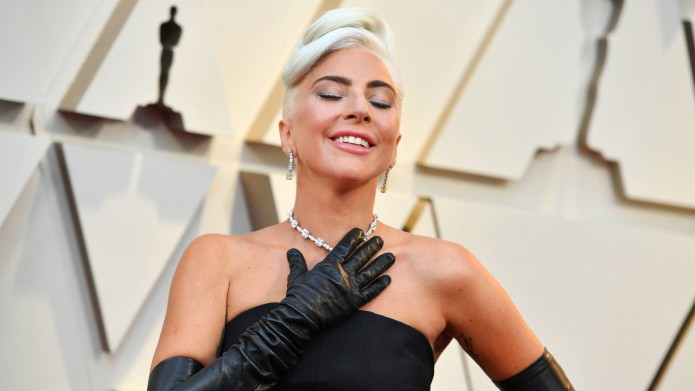 Lady Gaga at the 2019 Oscars