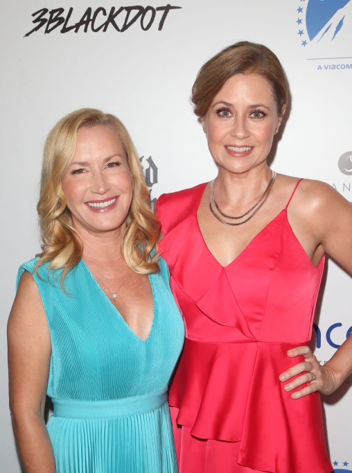 Jenna Fischer and Angela Kinsey