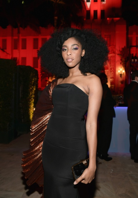 BEVERLY HILLS, CA - MARCH 04: (EXCLUSIVE ACCESS, SPECIAL RATES APPLY) Jessica Williams attends the 2018 Vanity Fair Oscar Party hosted by Radhika Jones at Wallis Annenberg Center for the Performing Arts on March 4, 2018 in Beverly Hills, California. (Photo by Emma McIntyre/VF18/WireImage)