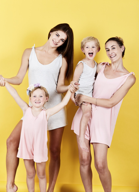 Mommy-and-Me Outfits for Moms and Sons: Flexi Lexi Summer Romper