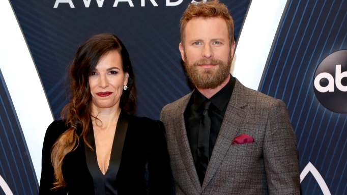 Cassidy Black and singer Dierks Bentley attend the 52nd annual CMA Awards at the Bridgestone Arena on November 14, 2018 in Nashville, Tennessee.