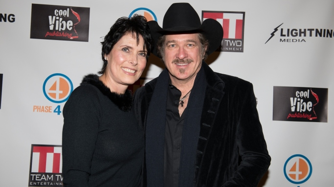 Kix Brooks and Barbara Brooks