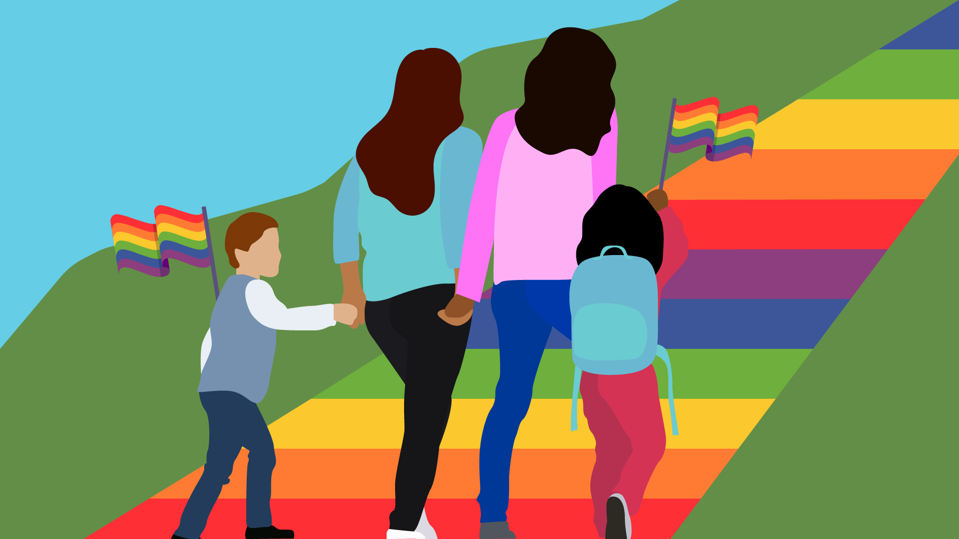 Yes you should take your kids to pride