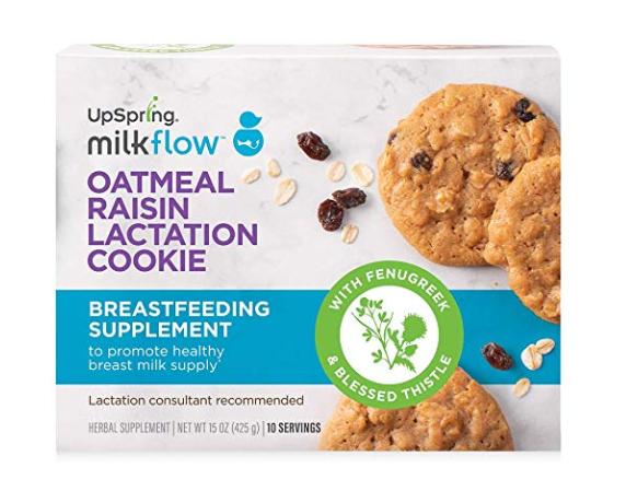 UpSpring Milkflow Lactation Cookies