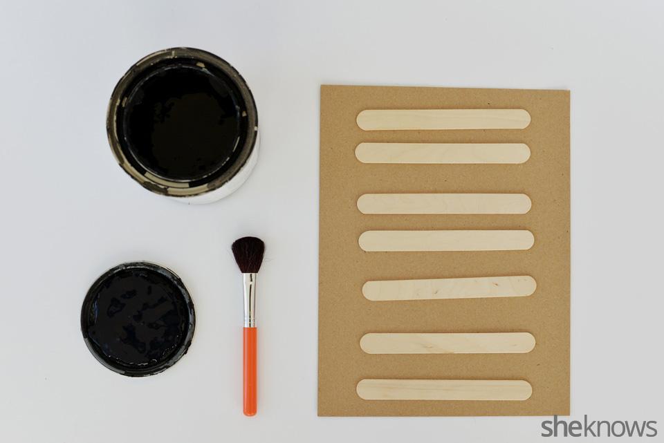 DIY chalkboard garden markers: Step 1 | Sheknows.com