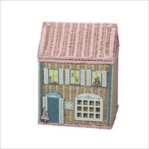 Wicker house hamper