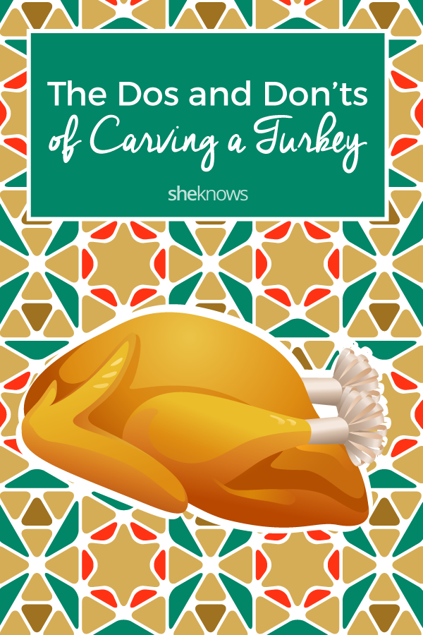 Pin it! The Do's & Don'ts of Carving a Turkey — 9 Tips for the Perfect Bird