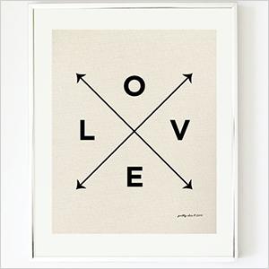 Original Love X Type print | Sheknows.ca