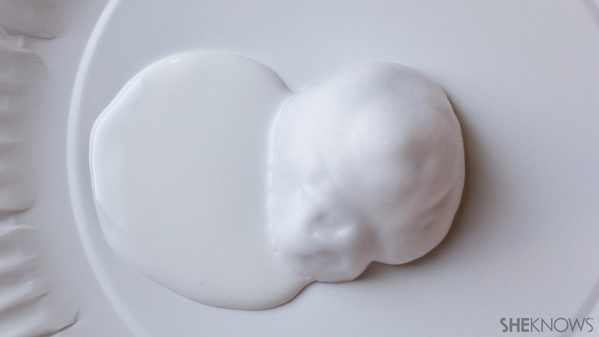 Equal parts shaving cream and glue | Sheknows.com