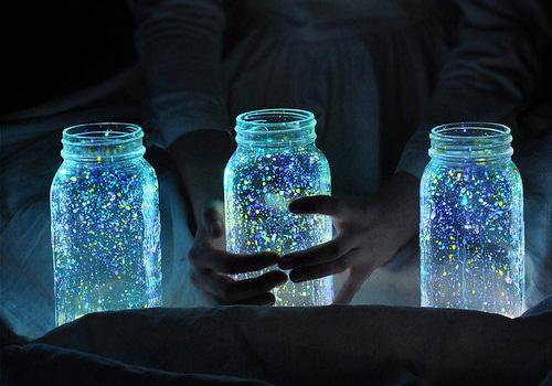 Fake firefly lanterns