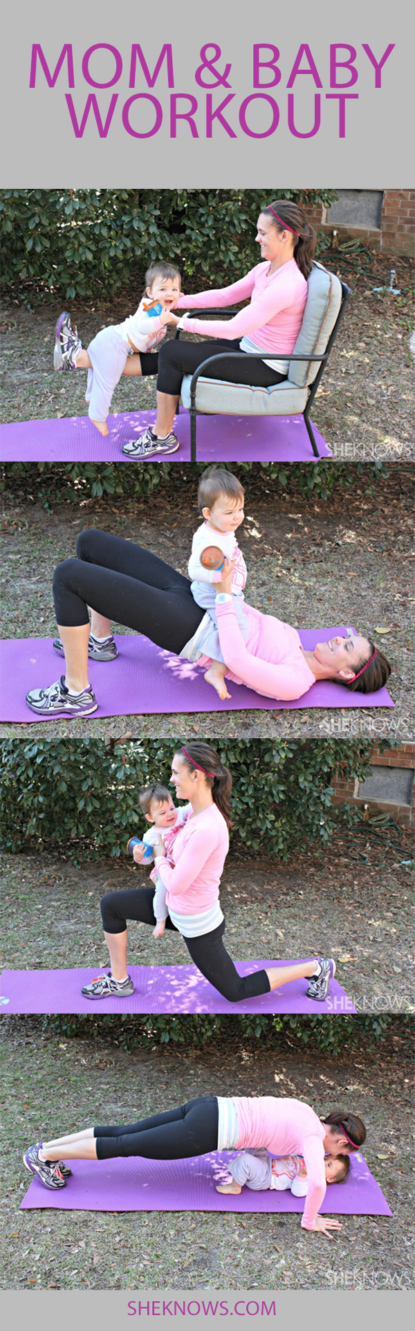 Pin it! Mom & baby exercises