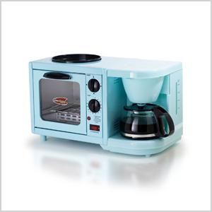 Blue breakfast maker
