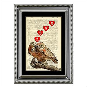 Owl Love print | Sheknows.ca