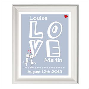 Personalized Love print | Sheknows.ca