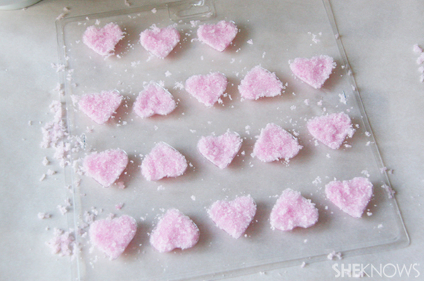 DIY Heart sugar cubes | Sheknows.ca - step four
