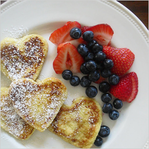Heart pancakes | Sheknows.com