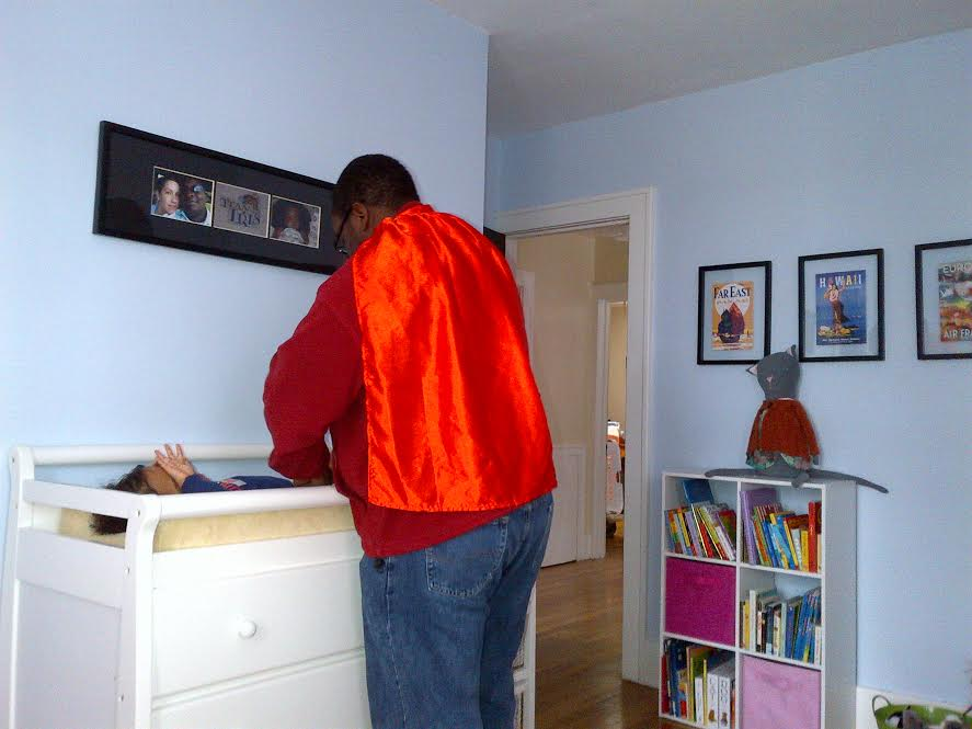 Dads wear your Wonder Woman cape so it doesn't get dirty | Sheknows.com