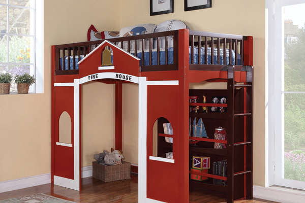 Firehouse bunk bed