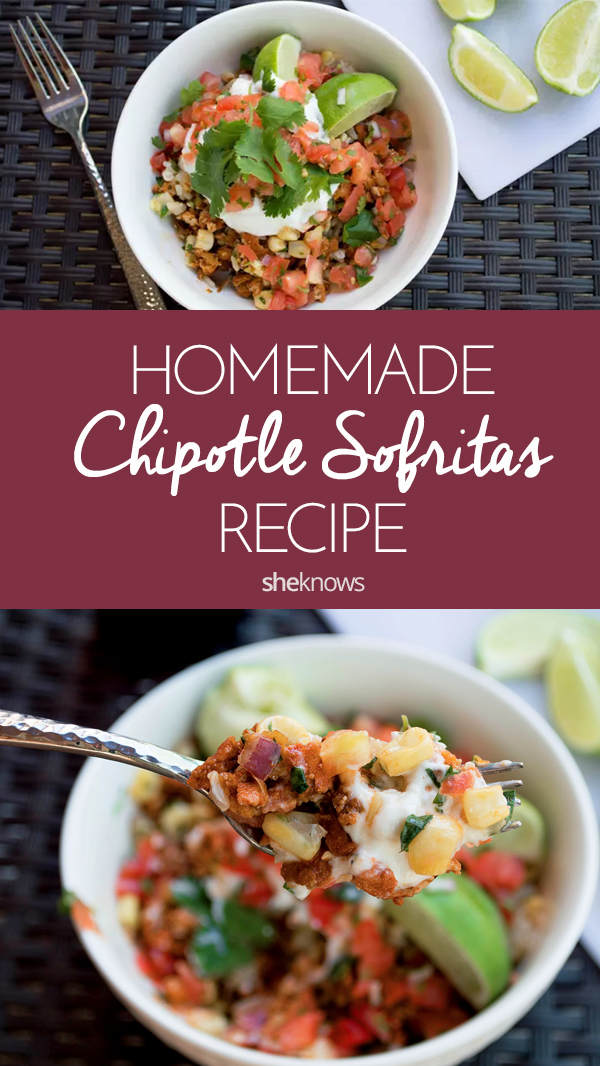 Pin it! Copycat Chipotle Sofritas