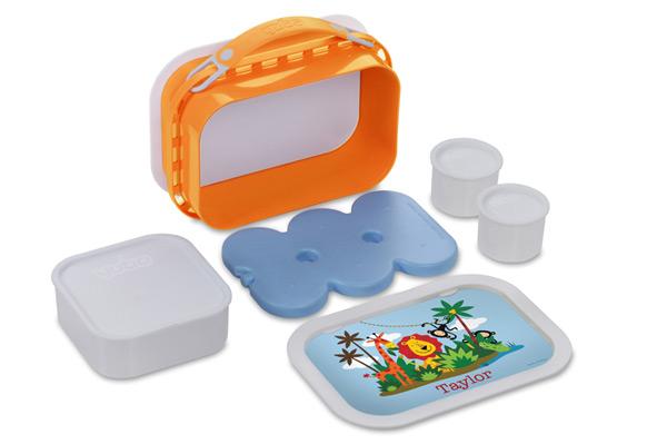 Personalized Jungle Fun Lunch Box | Sheknows.com