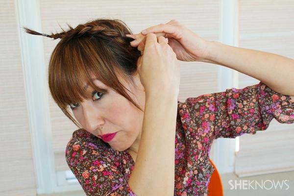 Braided headband tutorial