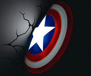 Captain America nightlight | Sheknows.com
