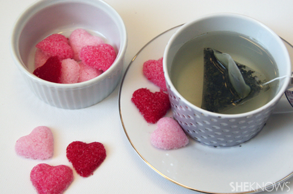 DIY Heart sugar cubes | Sheknows.ca - step seven, final product