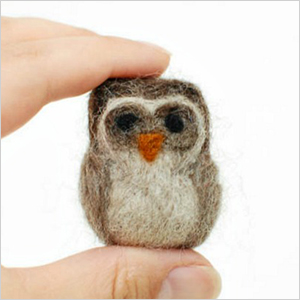 Needle felted owl craft | Sheknows.com