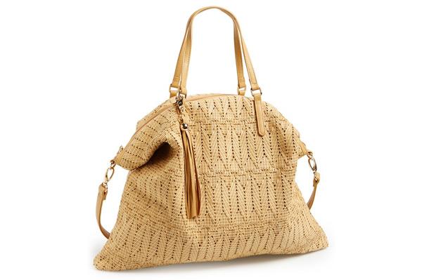 A Woven Tote Bag | Sheknows.com