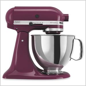 Purple stand mixer