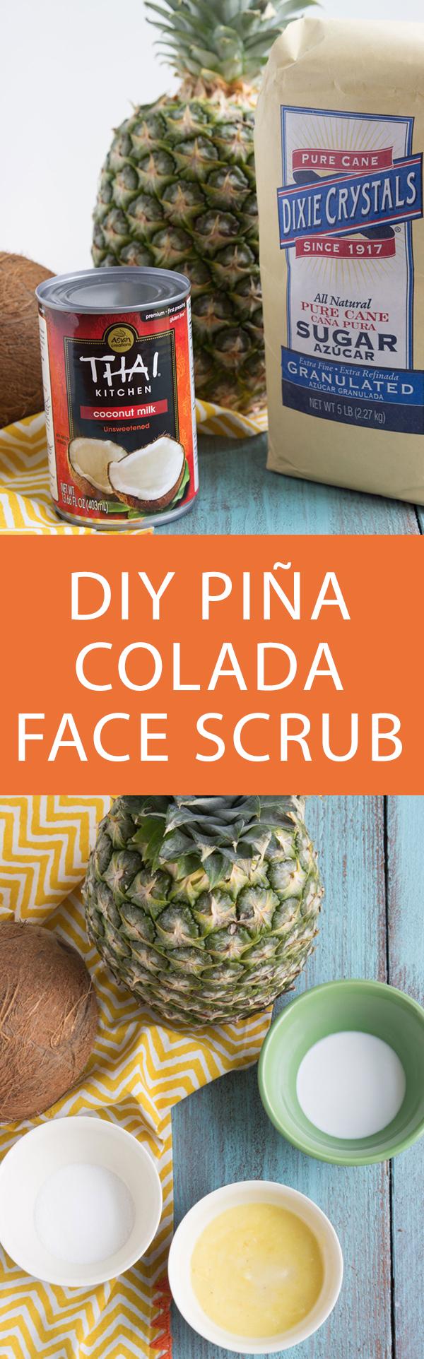 Pin it! DIY Exfloliating Scrub