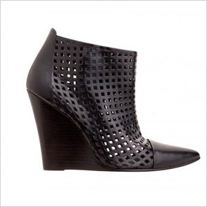 Sandro black ankle boot