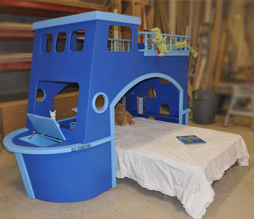 Ship bunk bed
