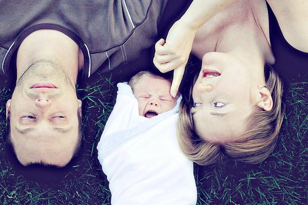 Baby photo fails - Don't poke me