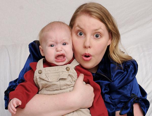 """Baby photo fails - Say """"Augh!"""""""