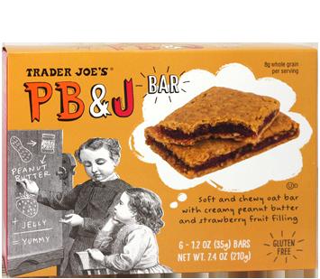 trader joe's pb&j bar