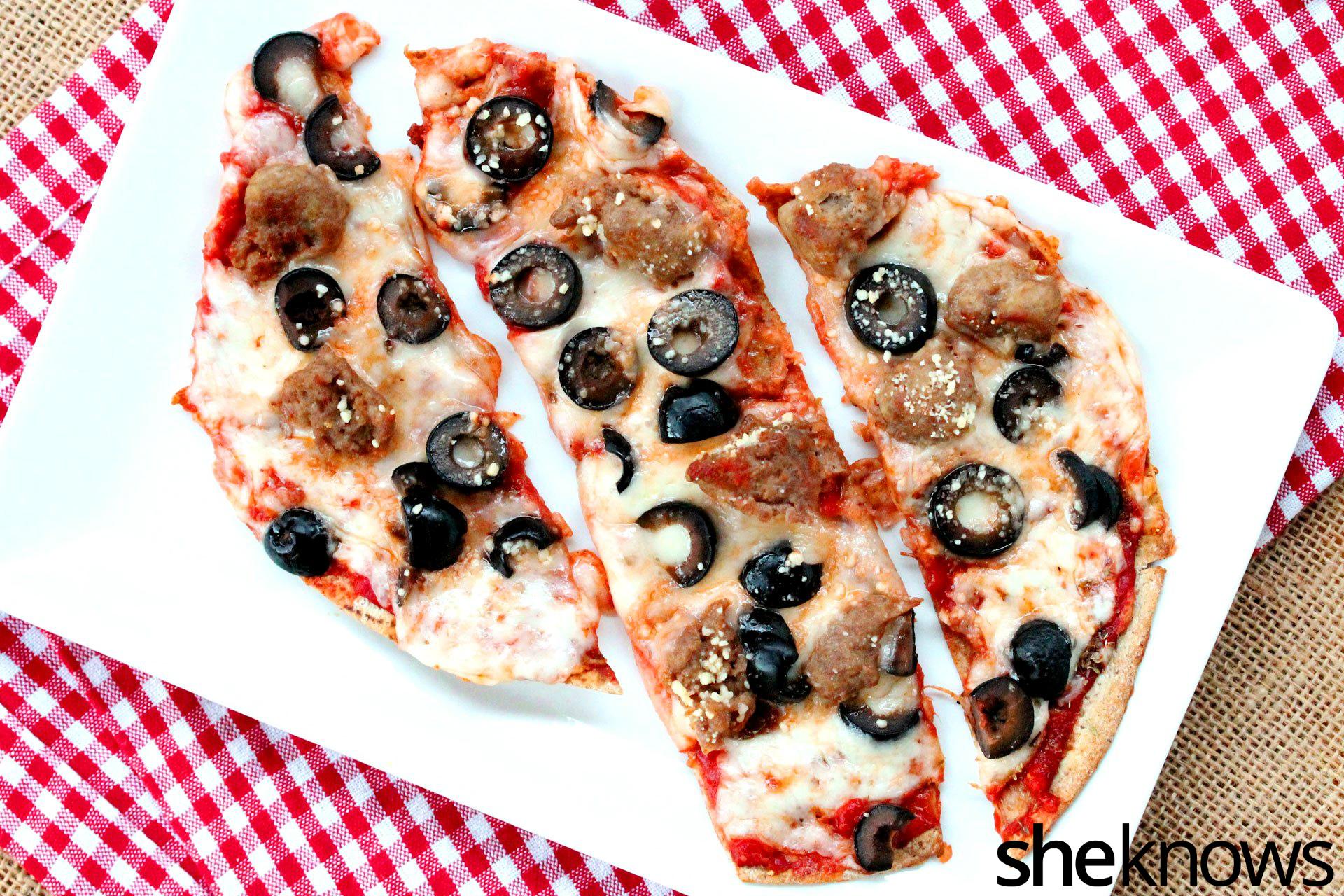 1 flatbread pizza