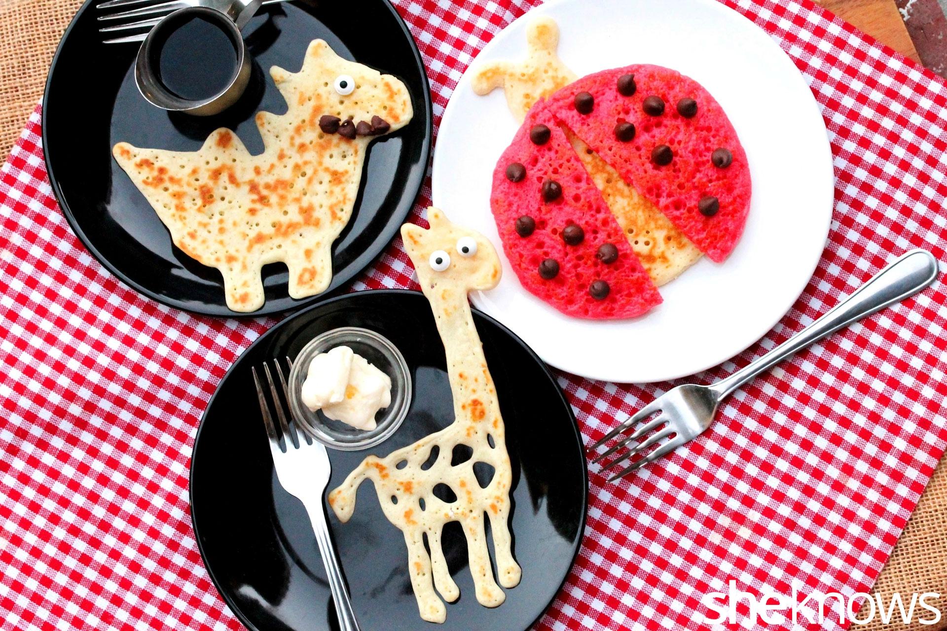 animal-pancakes-on-plate