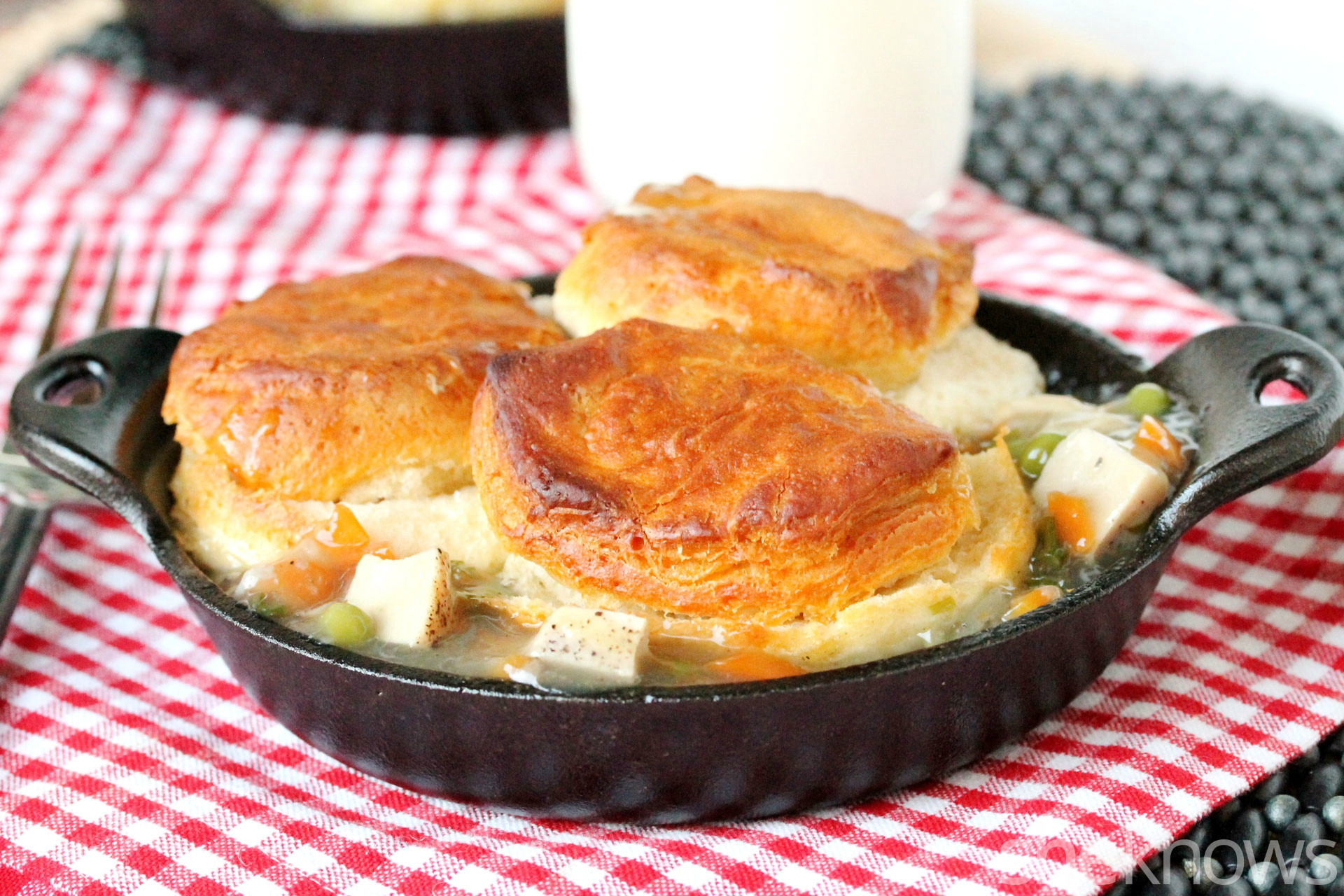 2 chicken pot pie