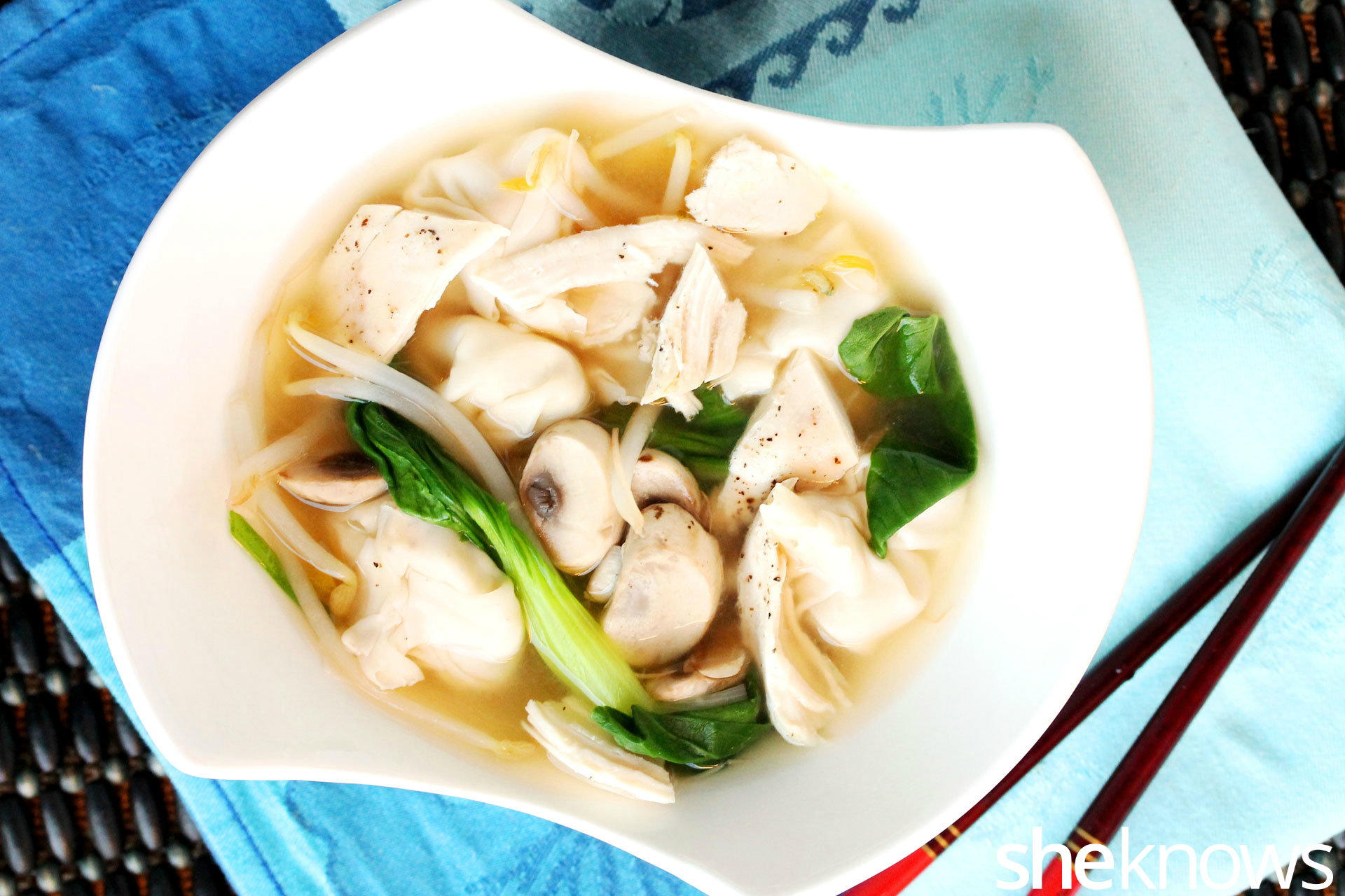 1 chicken wonton soup