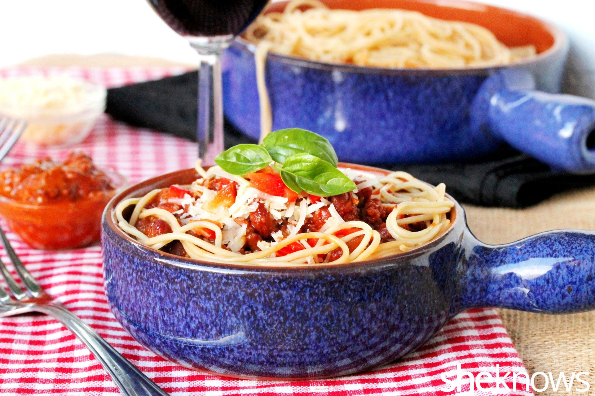 1 chili spaghetti