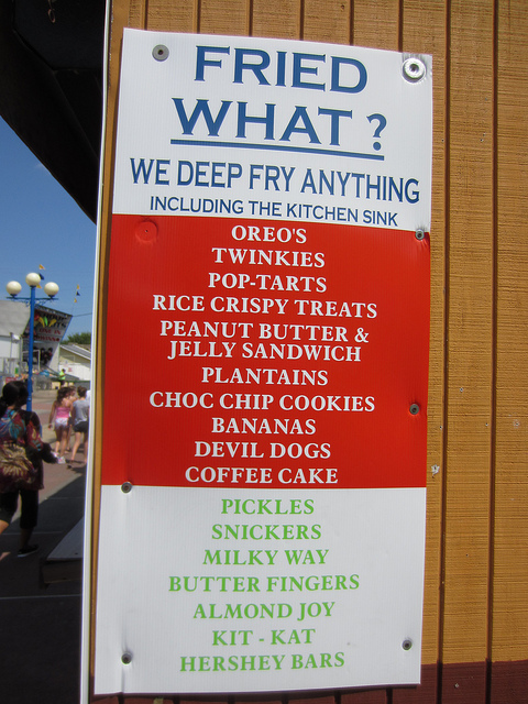 list of foods that can be fried
