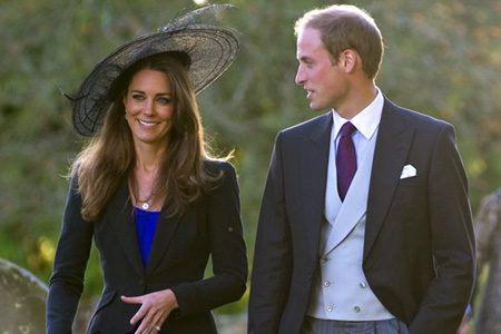 The royal couple: William and Kate